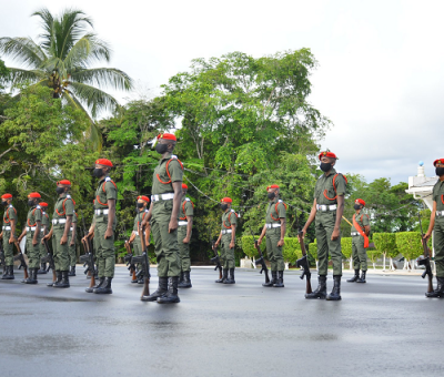 19 males prove their metal at GDF cadet course