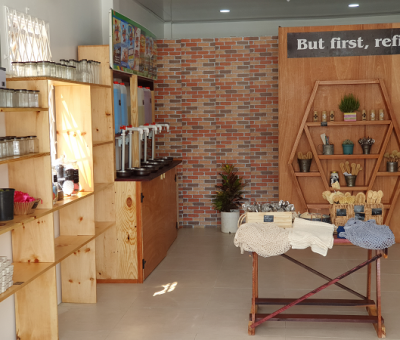 NOW OPEN!! A store that does not contribute to waste build-up