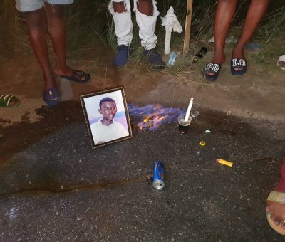 Western Union slip leads police to driver- family holds vigil
