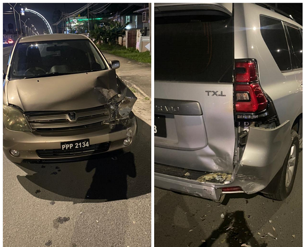 Drunk former minister involved in late night accident